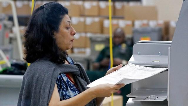 El conteo de votos (AFP)