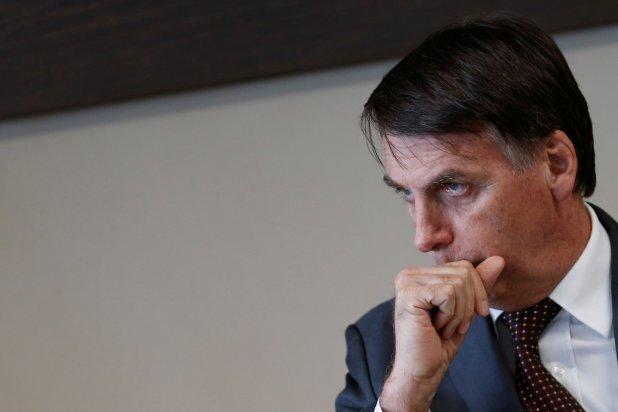 """Jair Bolsonaro fue premiado con el """"Fósil del día"""" en la cumbre COP24 en Polonia (REUTERS/Adriano Machado)"""