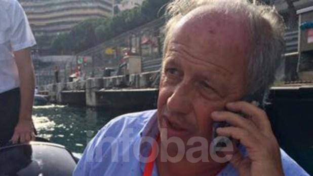 Talevi era un fanático de la Fórmula 1 y le gustaba viajar por el mundo