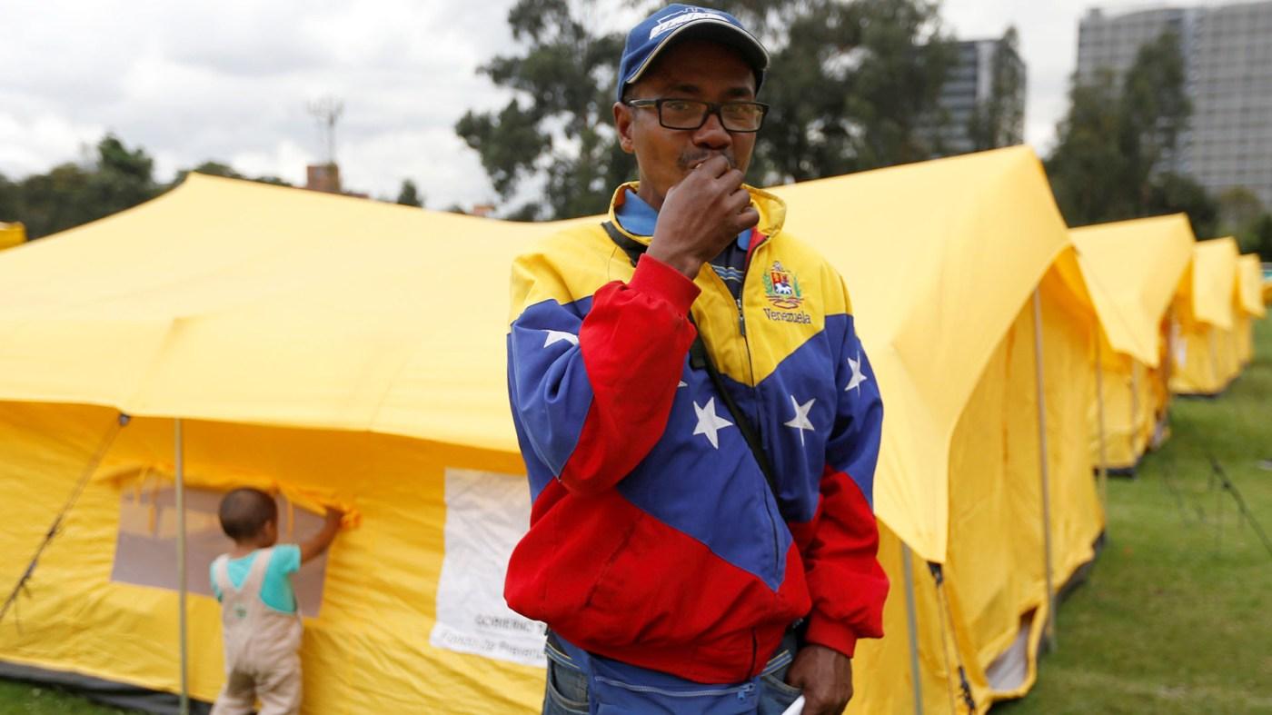 A Un migrante venezolano en Brasil (REUTERS/Luisa Gonzalez)