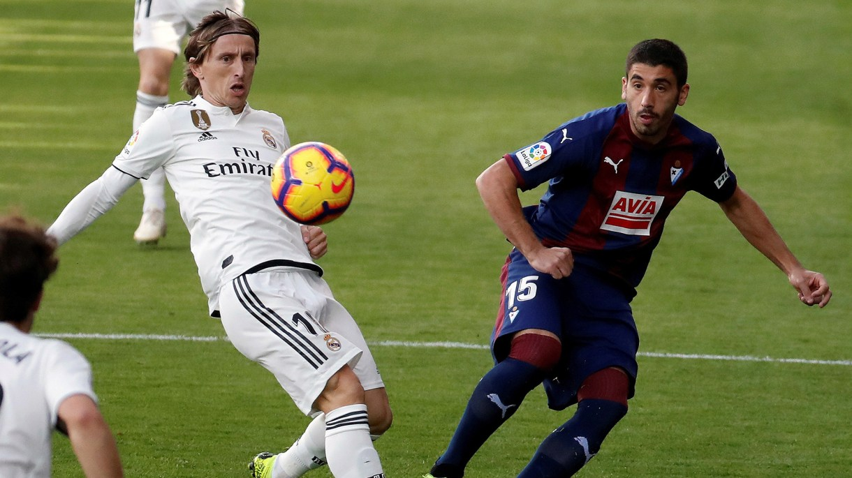 Luka Modric, la principal figura del Real Madrid (EFE)
