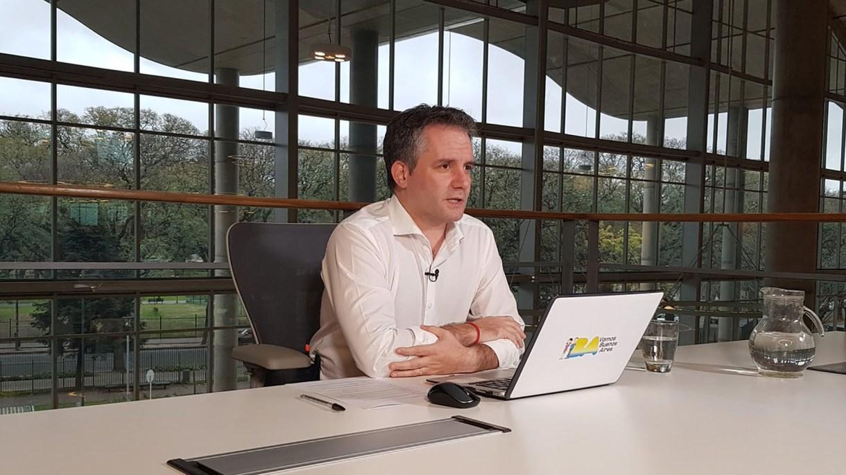 El secretatio de Seguridad porteño, Marcelo D'Alessandro