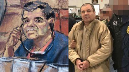 En los primeros días del juicio contra Joaquín Guzmán Loera fueron señalados casos de corrupción de presidentes de México (Fotos: AFP / EFE )