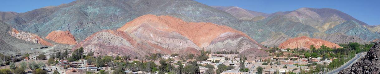 Vista del Cerro de los Siete Colores