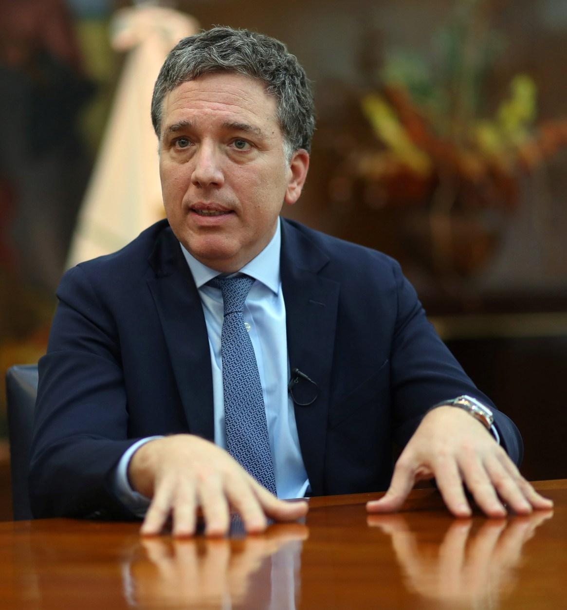 El ministro de Hacienda, Nicolás Dujovne (REUTERS)