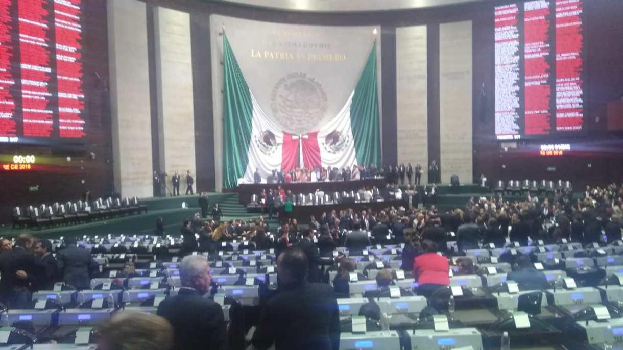 Así es como se encuentra ahora la Cámara de Diputados