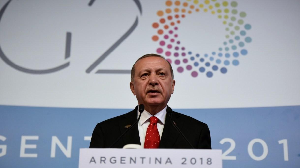 Recep Erdogan, presidente de Turquía (Manuel Cortina)