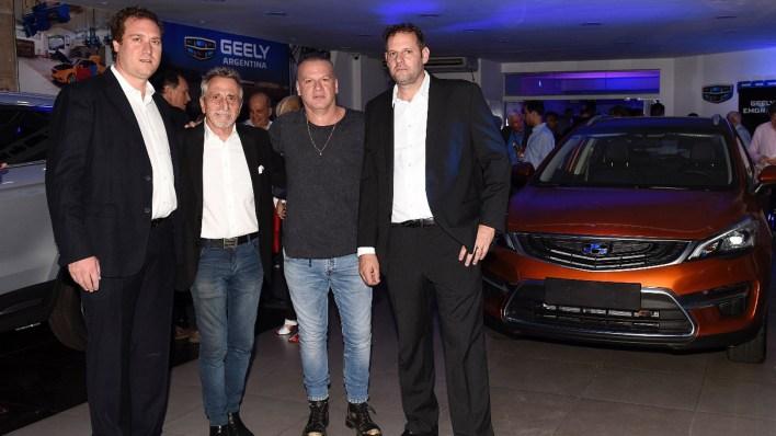 Patricio Winograd, Alberto Pironti, Leandro Rud y Pablo Rivero Segura