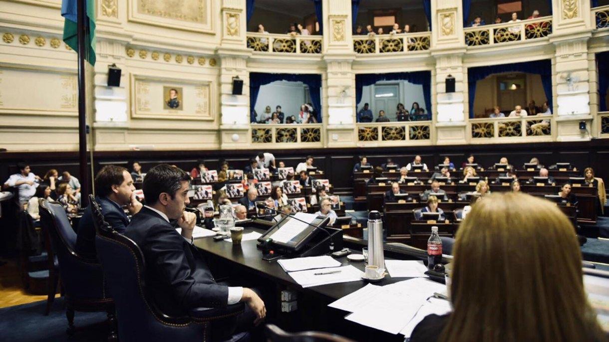 El presidente de la Cámara de Diputados, Manuel Mosca