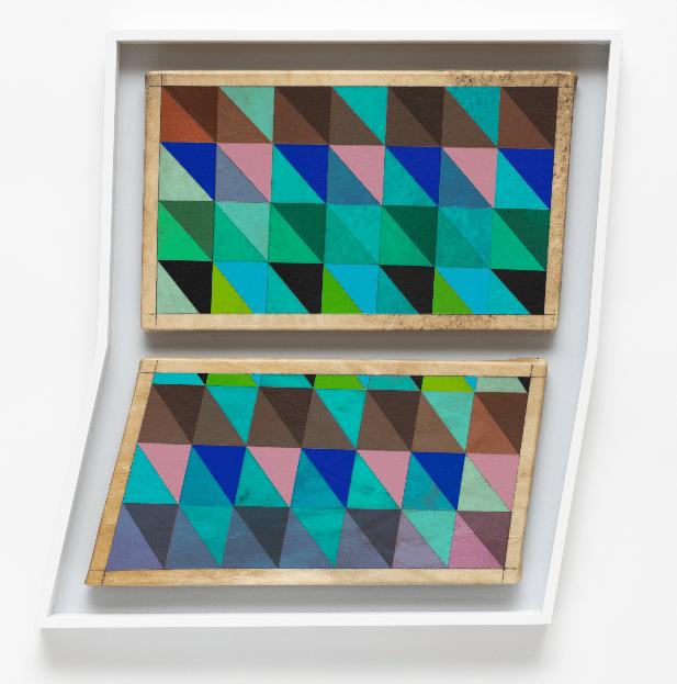 Jeffrey Gibsondedicó el último año a crear obras sobre la inestabilidad de las minorías. (Art Basel)