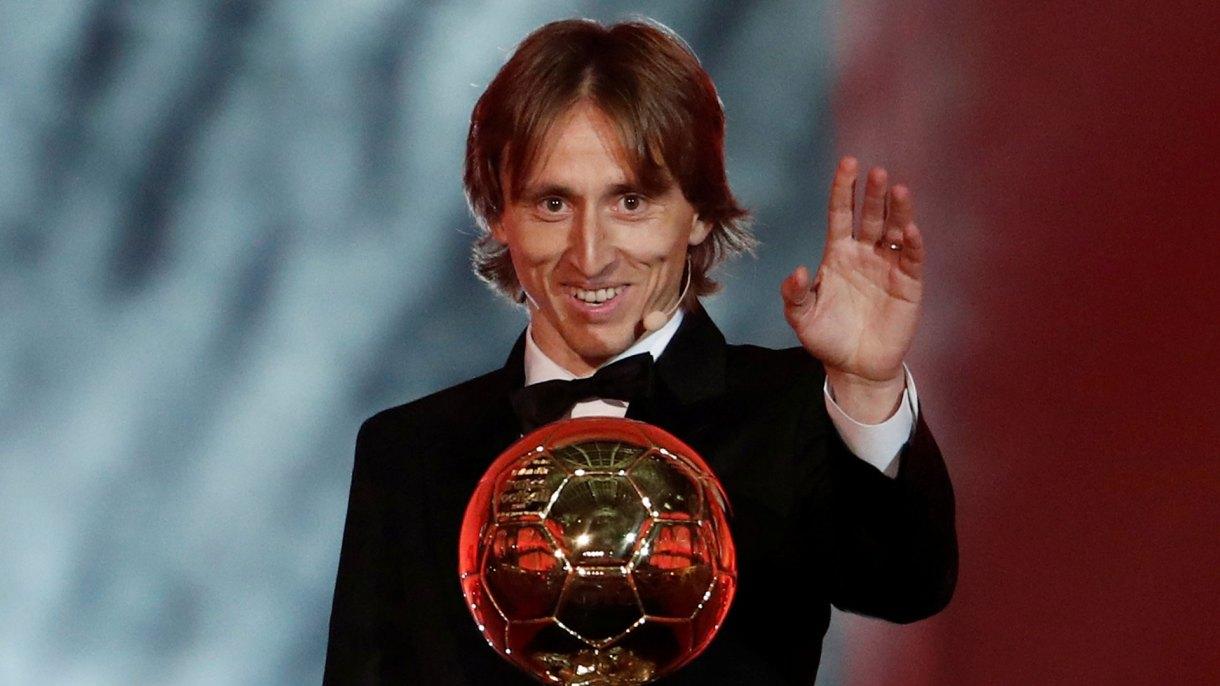 Luka Modric se quedó con el Balón de Oro (Reuters)