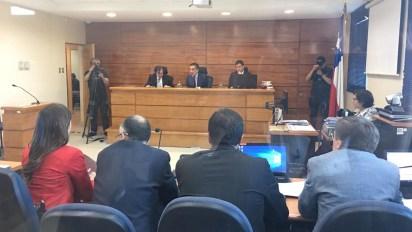 Para preservar a las víctimas, el Tribunal ordenó desalojar la sala y prohibió que sean fotografiados
