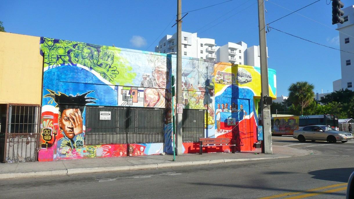 Little Haititiene murales en las calles y varias galerías de importancia. (Wikimedia Commons)