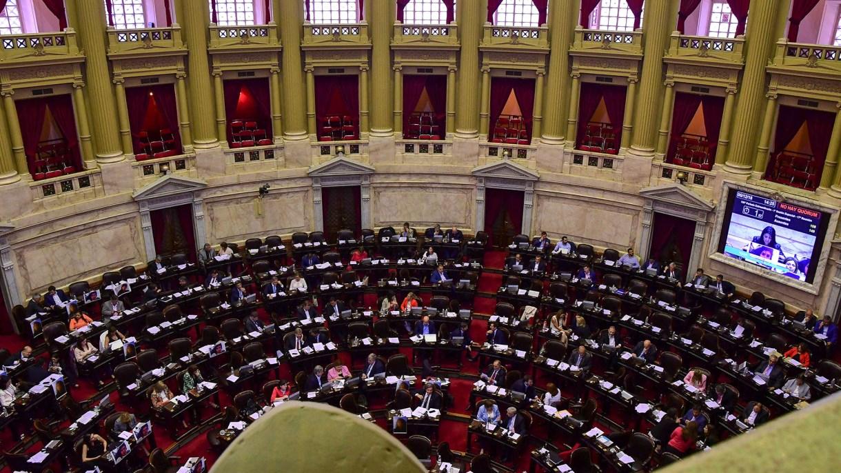 La Cámara de Diputados sancionó la reforma del Código Penal (Télam)