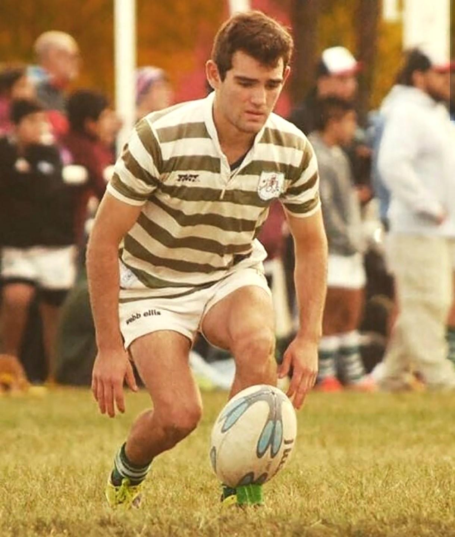 Su pasión era el rugby