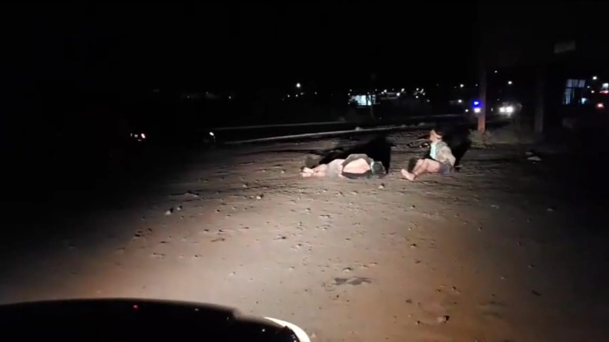 A algunos supuestos ladrones, luego de golpearlos, los dejan abandonados en carreteras (Foto: Especial)