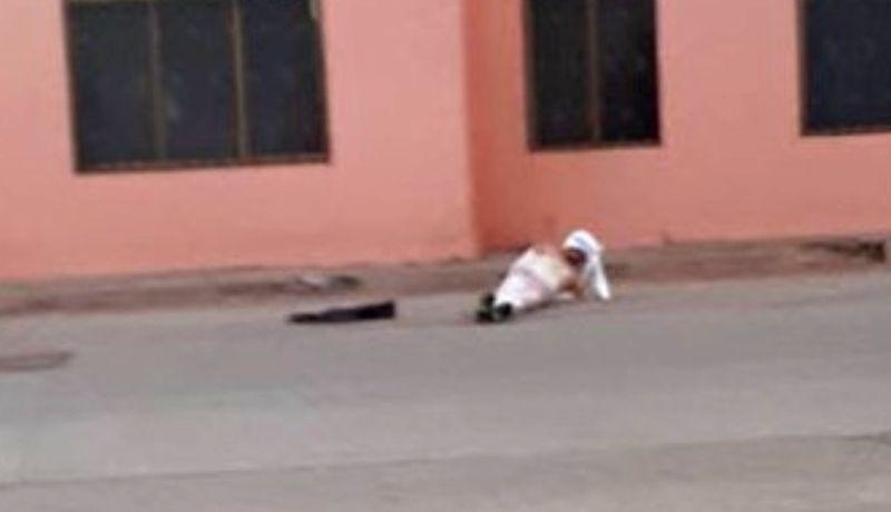 Luego de las golpizas, los supuestos asaltantes quedan expuestos en las calles (Foto: Especial)
