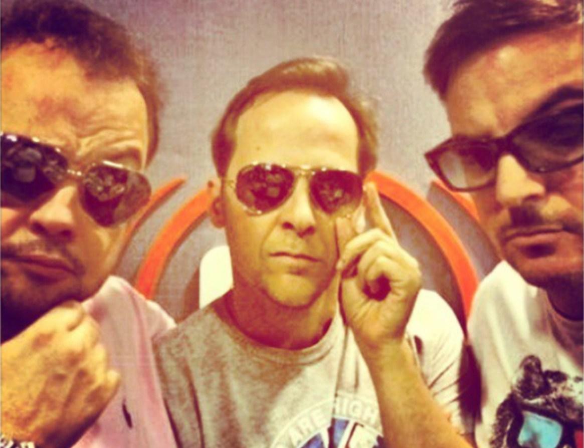 Ayer compinches, hoy ex amigos: Cabito, Matias Martin y Diego Ripoll (Foto: Instagram)