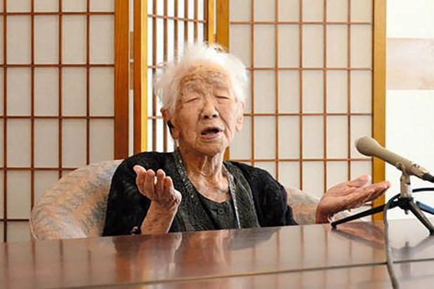 Kane Tanaka, la persona viva más longeva