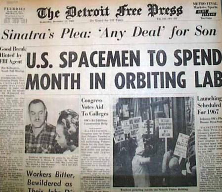 """Según The Detroit Free Press, Frank Sinatra estaba dispuesto a realizar """"el trato que sea"""" por su hijo"""