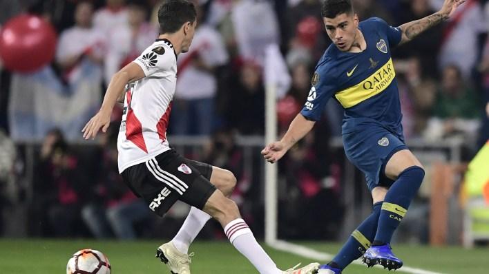 Ignacio Fernández finalmente fue titular y Martínez Quarta terminó en el banco de los suplentes