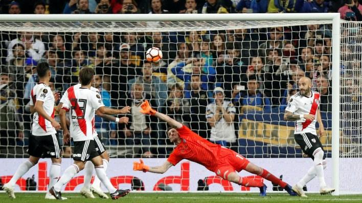 A los 29, nuevamente Pablo Pérez se perdió el gol