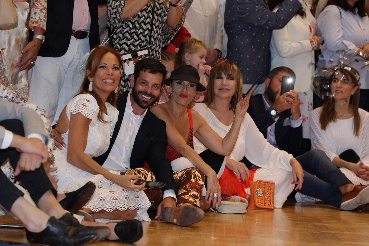 Iliana Calabró, Mariano Caprarola, María Fernanda Callejón y Mora Furtado