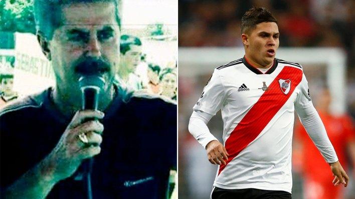 El futbolista de River no tiene recuerdos de Jaime Enrique Quintero