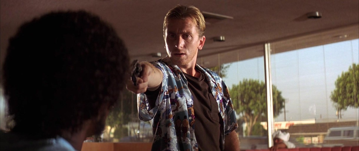 """En """"Pulp Fiction"""", también de Tarantino"""