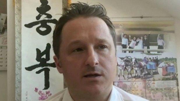 Michael Spavor, el empresario canadiense detenido en China (AP)