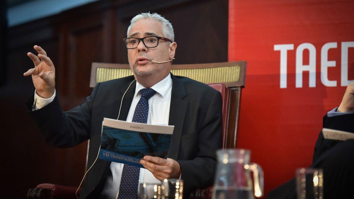 Torres en una de sus ponencias (foto de archivo: Guille Llamos)