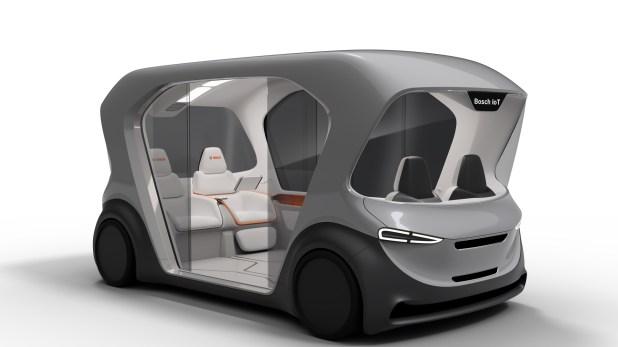 Los asientos se reservarán desde una aplicación en el smartphone. Desde allí también se paga (Bosch)