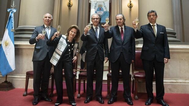 Los jueces de la Corte Suprema (CIJ)