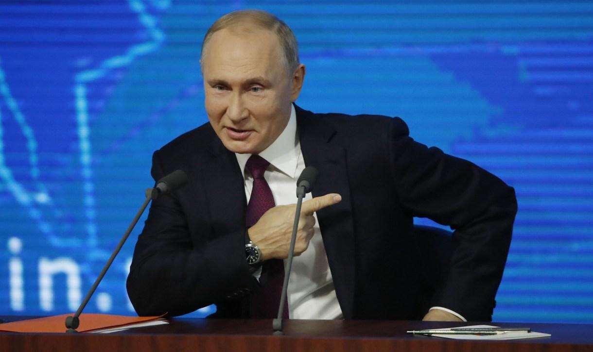 El presidente de Rusia, Vladimir Putin(Reuters)