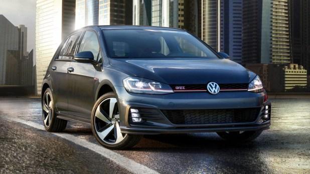 Volkswagen Golf GTI, por ahora es el único que se ofrece en el país.