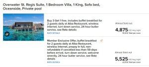 De la Reguera y Dalton se hospedaron en un resort de lujo