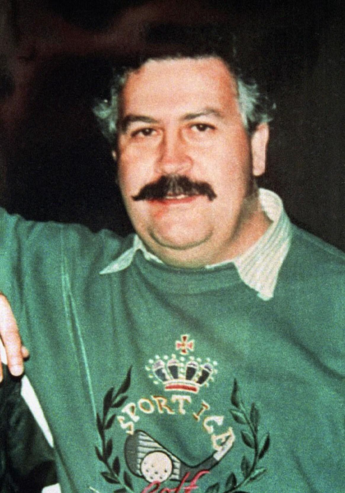 El narcotraficante colombiano, Pablo Escobar (Foto: AP)