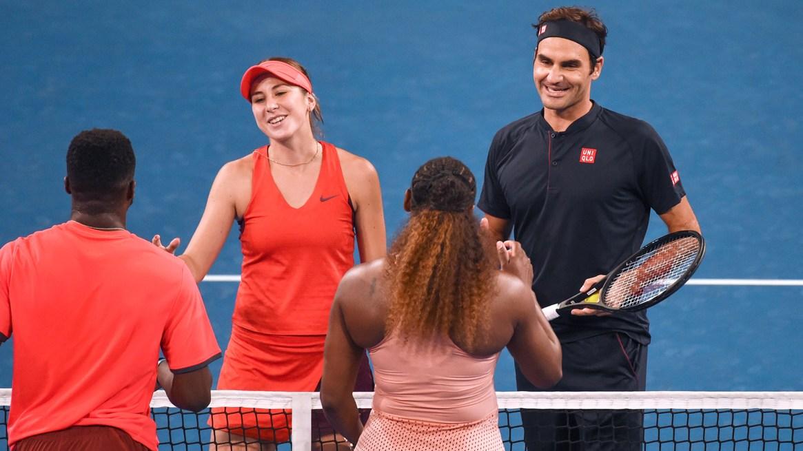 (AFP) Williams y Tiafoe no pudieron con Suiza