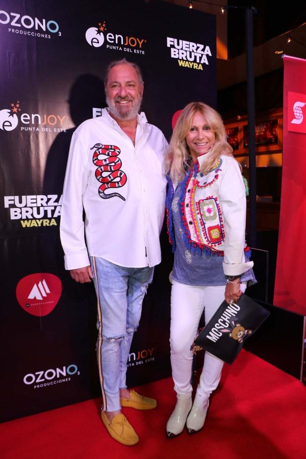 Ana Rosenfeld y su marido Marcelo Frydlewski