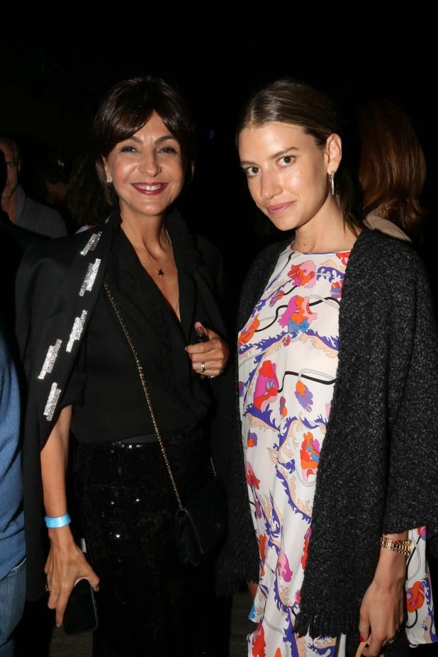 Evangelina Bomparola y Angie Landaburu