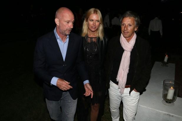 Giuseppe Cipriani, Valeria Mazza y Alejandro Gravier