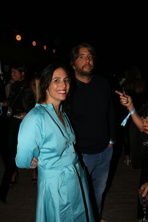 Lucila Sperber y Germán Geller