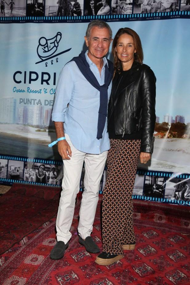 Manuel Antelo e Inés Peralta Ramos