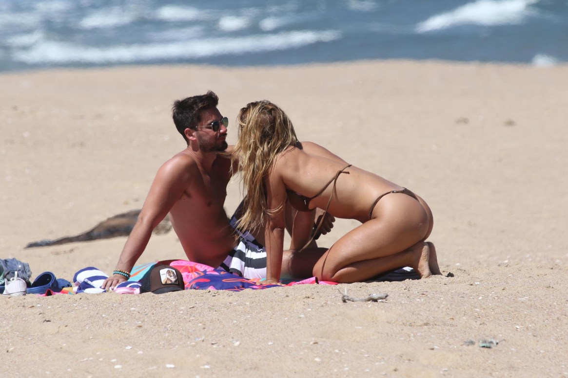 Flor Vigna y Nico Ochiatto en Punta del Este (GM Press)