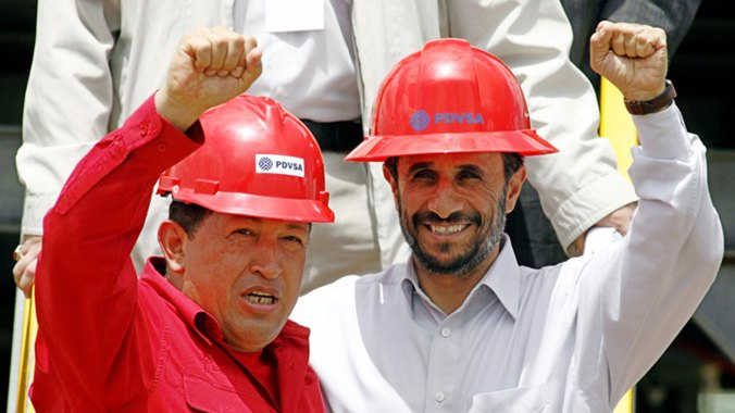 Hugo Chaávez y Mahmoud Ahmadineyad (Reuters)