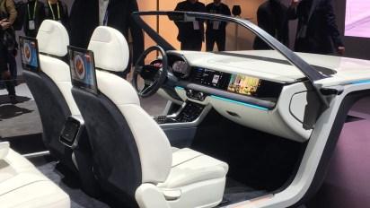 La cabina inteligente diseñada por Samsung