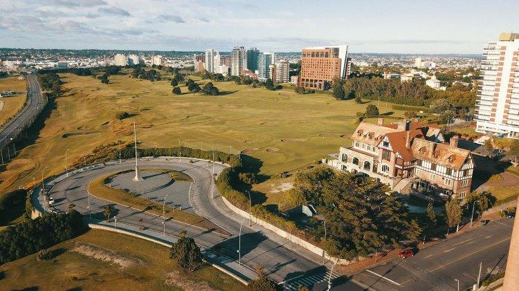 El Golf Club de Mar del Plata, uno de los orgullos arquitectónicos de la ciudad (Christian Heit)