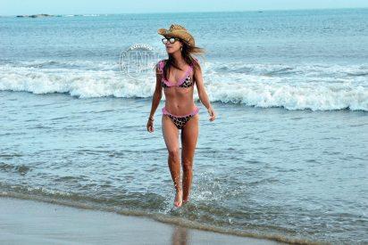 Agustina Casanova, de vacaciones en las playas de José Ignacio