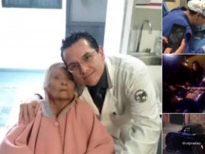 La comunidad médica de México, pacientes y familiares claman justicia a través de redes sociales (Foto: Twitter @c4jimenez)