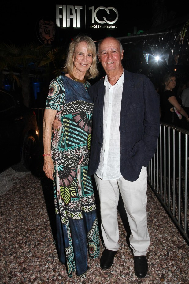 Carlos Fontán Balestra y su mujer Pompi Chopitea